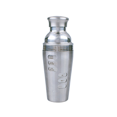 Bartender Stainless Steel Dial-A-Drink Cocktail Shaker 750ml