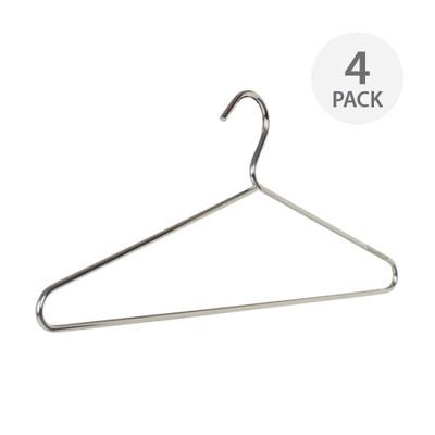 Howards Chrome Clothes Hanger - 4 Pack