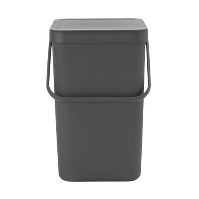 brabantia Sort & Go Waste Bin 25L - Grey