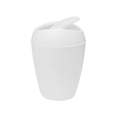 Umbra Twirla Can Rubbish Bin - White