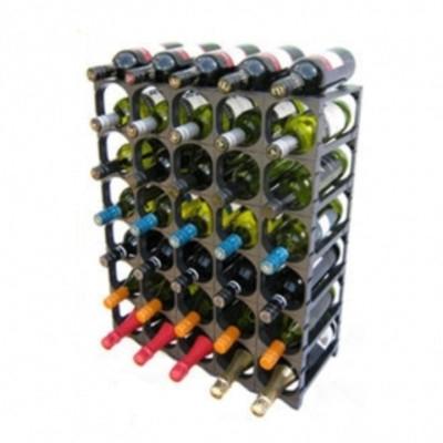 Cellarstak 35/36 Bottle Silver Wine Rack