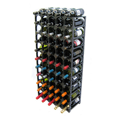 Cellarstak 55/60 Bottle Black Wine Rack