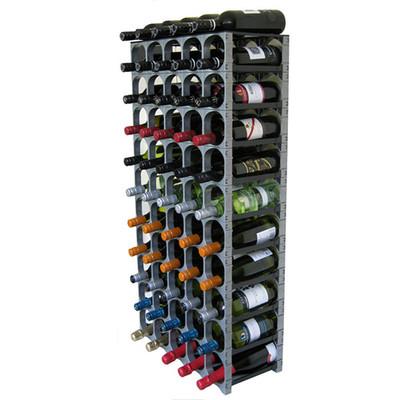 Cellarstak 55/60 Bottle Silver Wine Rack