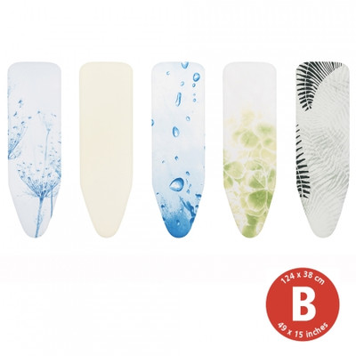 brabantia Ironing Board Cover - Size B - Neutral Colours - Assorted