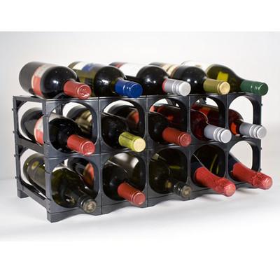 Cellarstak 12/15 Bottle Black Wine Rack