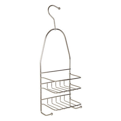 Immerse Shower Caddy with Hook - Stainless Steel