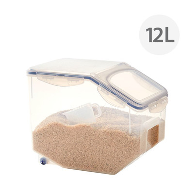 Lock & Lock Tapered Rice Food Container 12L with Cup