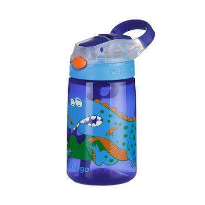 Contigo Gizmo Flip Drink Bottle 420ml - Dinosaur