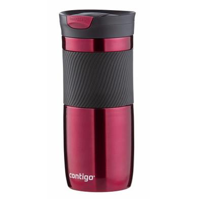 Contigo Byron Snapseal Stainless Steel Mug 473ml - Red