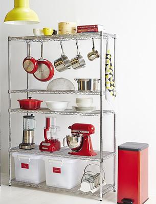 easy-build 5 Shelf Multipurpose Shelving Unit