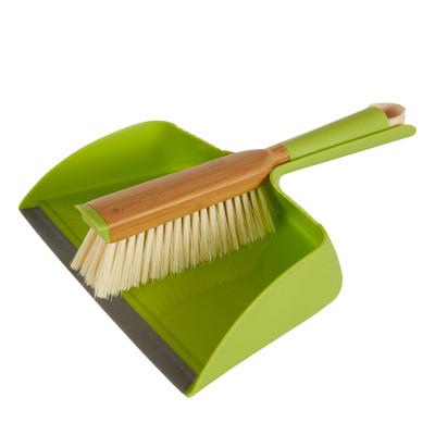 Dustpan and Brush Set - Green