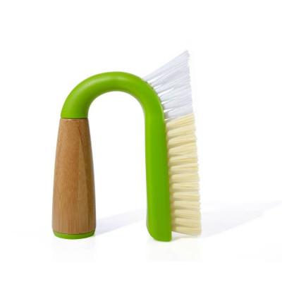 Full Circle Grunge Buster Grout & Tile Brush - Green