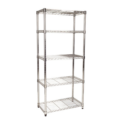 easy-build 5 Shelf Unit 150cm - Silver
