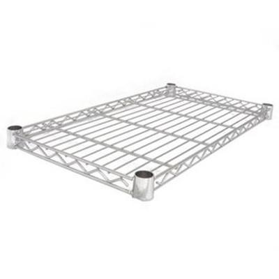 easy-build Chrome Shelf 61cm x 46cm - Silver