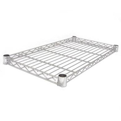 easy-build Chrome Shelf 66cm x 36cm - Silver
