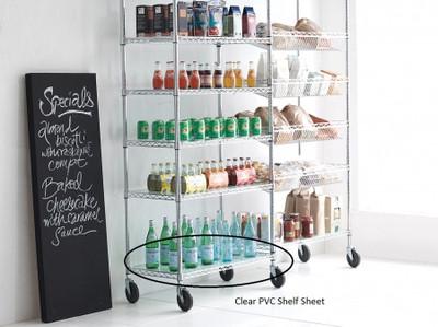 easy-build Clear PVC Shelf Sheet 66 x 36cm