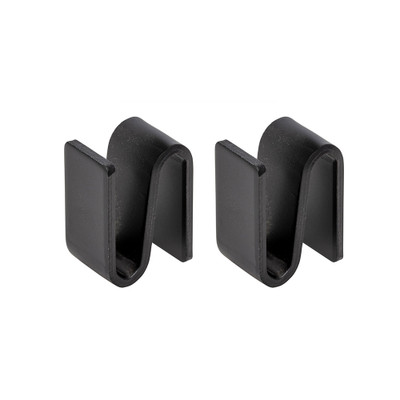 easy-build Shelf Connector 2 Pack - Black
