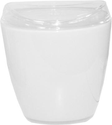 Classic Oval White Waste Bin