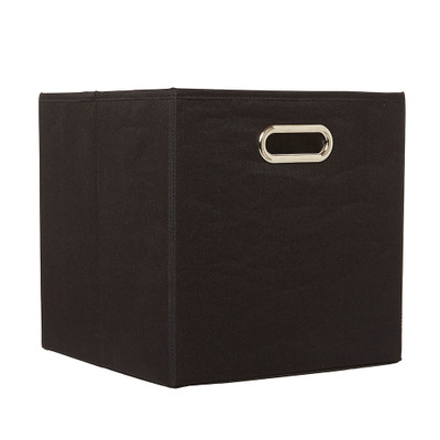 Howards Collapsible Square Black Tote