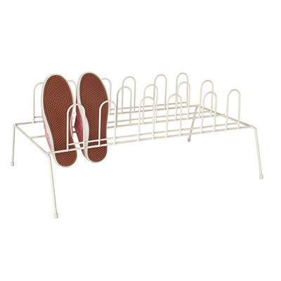 Howards Shoe Rack 9 Pair - White