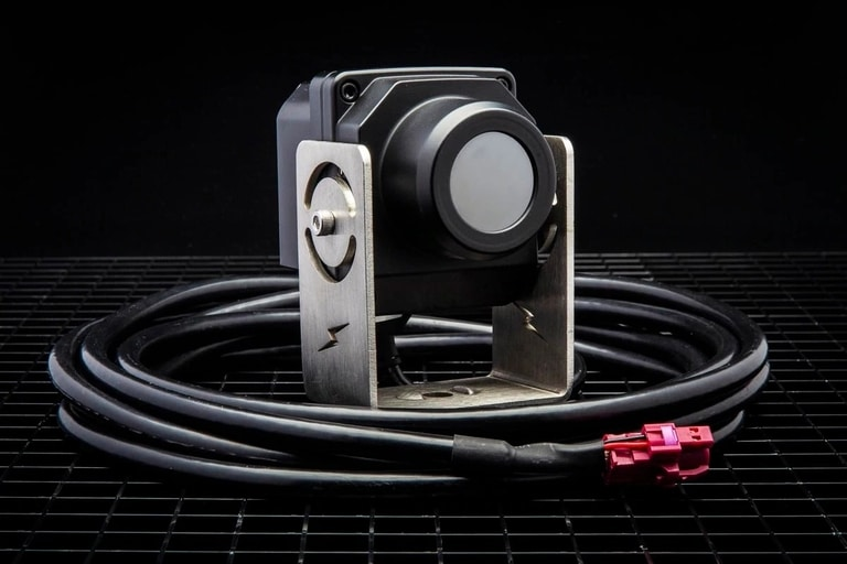 Camera With Thermal Imaging and Wires