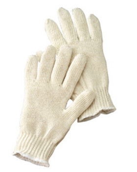 RAD64057175 Gloves General Purpose Cotton Gloves Uncoated Radnor 64057175