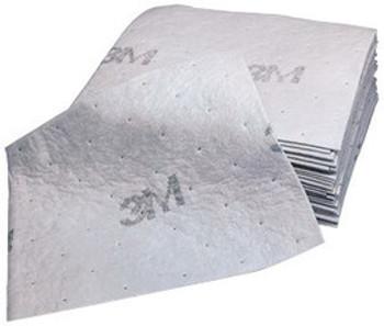 "3M™ 15 1/2"" X 20 1/2"" Light Gray Polypropylene And Polyester High Capacity Maintenance Sorbent Pad"