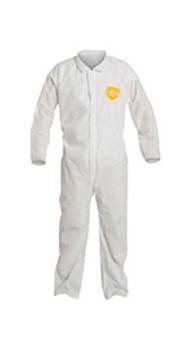 DPPPB120SWHLG00 Clothing Chemical Clothing DuPont Personal Protection PB120SWHLG0025