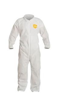 DPPPB125SWHLG00 Clothing Chemical Clothing DuPont Personal Protection PB125SWHLG0025