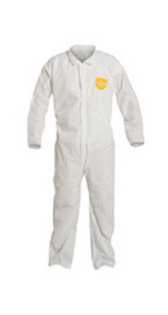 DPPPB120SWH5X00 Clothing Chemical Clothing DuPont Personal Protection PB120SWH5X0025