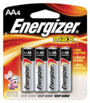 E33E91BP-4 MRO & Plant Maintenance Flashlights & Batteries Energizer E91BP-4