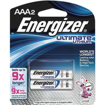 E33L92BP-2 MRO & Plant Maintenance Flashlights & Batteries Energizer L92BP-2