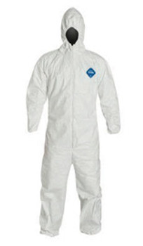 DPPTY127SWHMD00 Clothing Disposable Clothing DuPont Personal Protection TY127SWHMD002500
