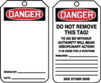 A81MDT185CTP Area Protection Lockout & Tagout Accuform Signs MDT185CTP