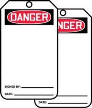 A81MDT260CTP Area Protection Lockout & Tagout Accuform Signs MDT260CTP