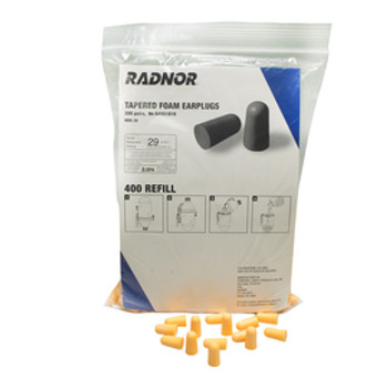 RAD64051816 Hearing Protection Earplugs Radnor 64051816