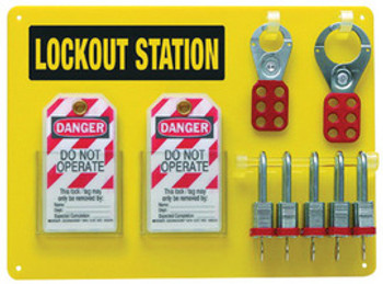 BRD51181 Area Protection Lockout & Tagout Brady USA 51181