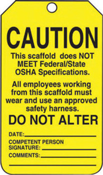 Accuform Signs TSS102PTP Safety Labels & Tags