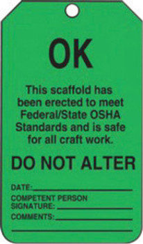 Accuform Signs TSS103PTP Safety Labels & Tags