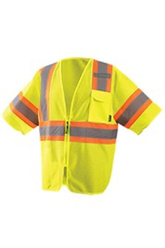 OccuNomix 2X Yellow Polyester/Mesh Economy Vest