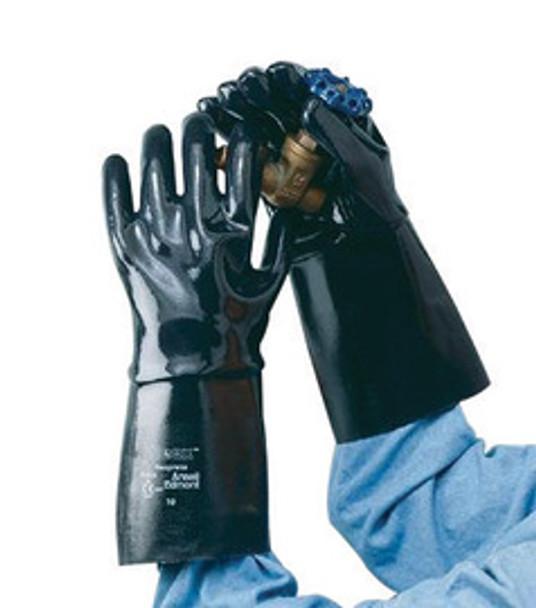 ANE9-924-10 Gloves Chemical Resistant Gloves Ansell Edmont 9-924-10
