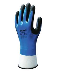 SHOWA BEST 4575-09 Coated Gloves,L,Gray/White,PR Professionele uitruisting