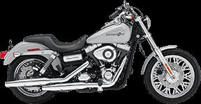 Harley Dyna Super Glide Saddlebags