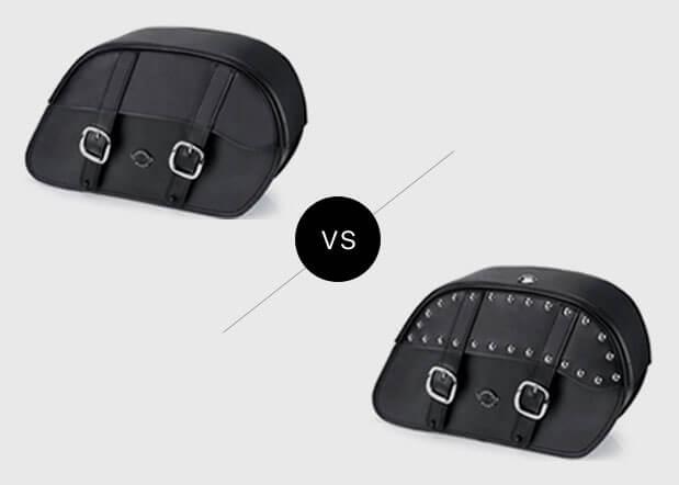 rc duna plain bag vs studded style