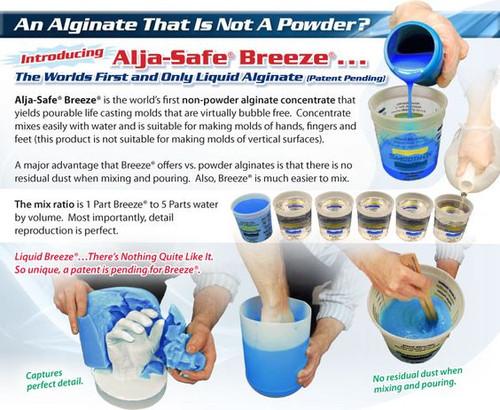 Alja-Safe® BREEZE Liquid Alginate - 1 pint