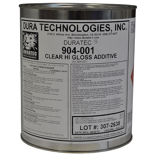 Duratec 904-001 Clear Hi Gloss Additive