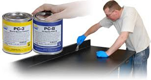 PC 3 Lab Table Top Cement