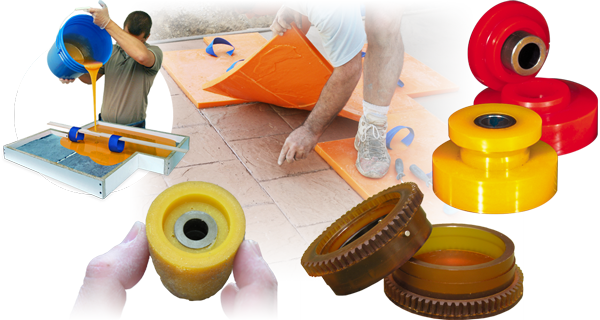 PMC-770 Urethane Rubber - For Production and Industrial Applications