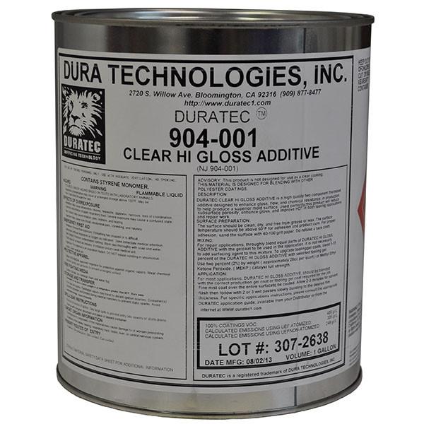 Duratec 904-001 Clear Hi Gloss Additive