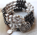 Lux Beaded Wrap Bracelet